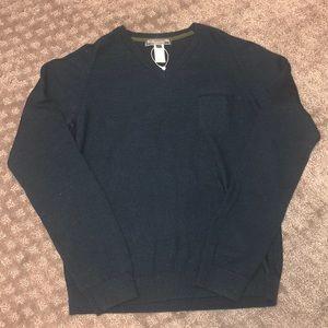 Boys Bonpoint navy blue sweater size 12